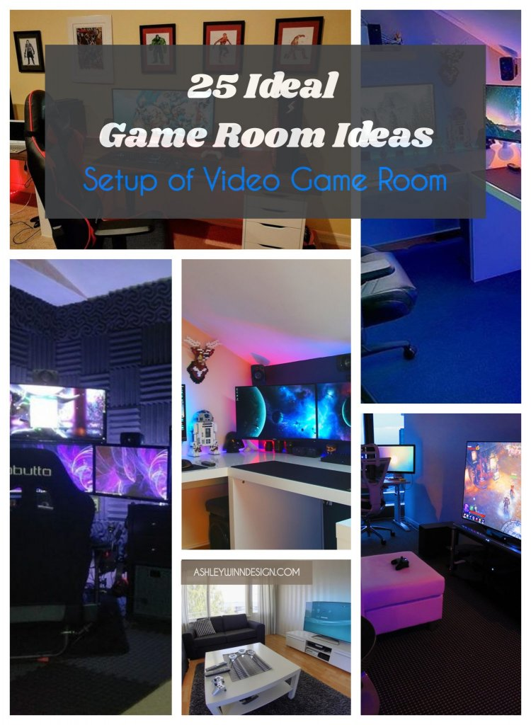 Room Ideas: 25 Best Game Room Ideas 2019 (A Guide For Gamers