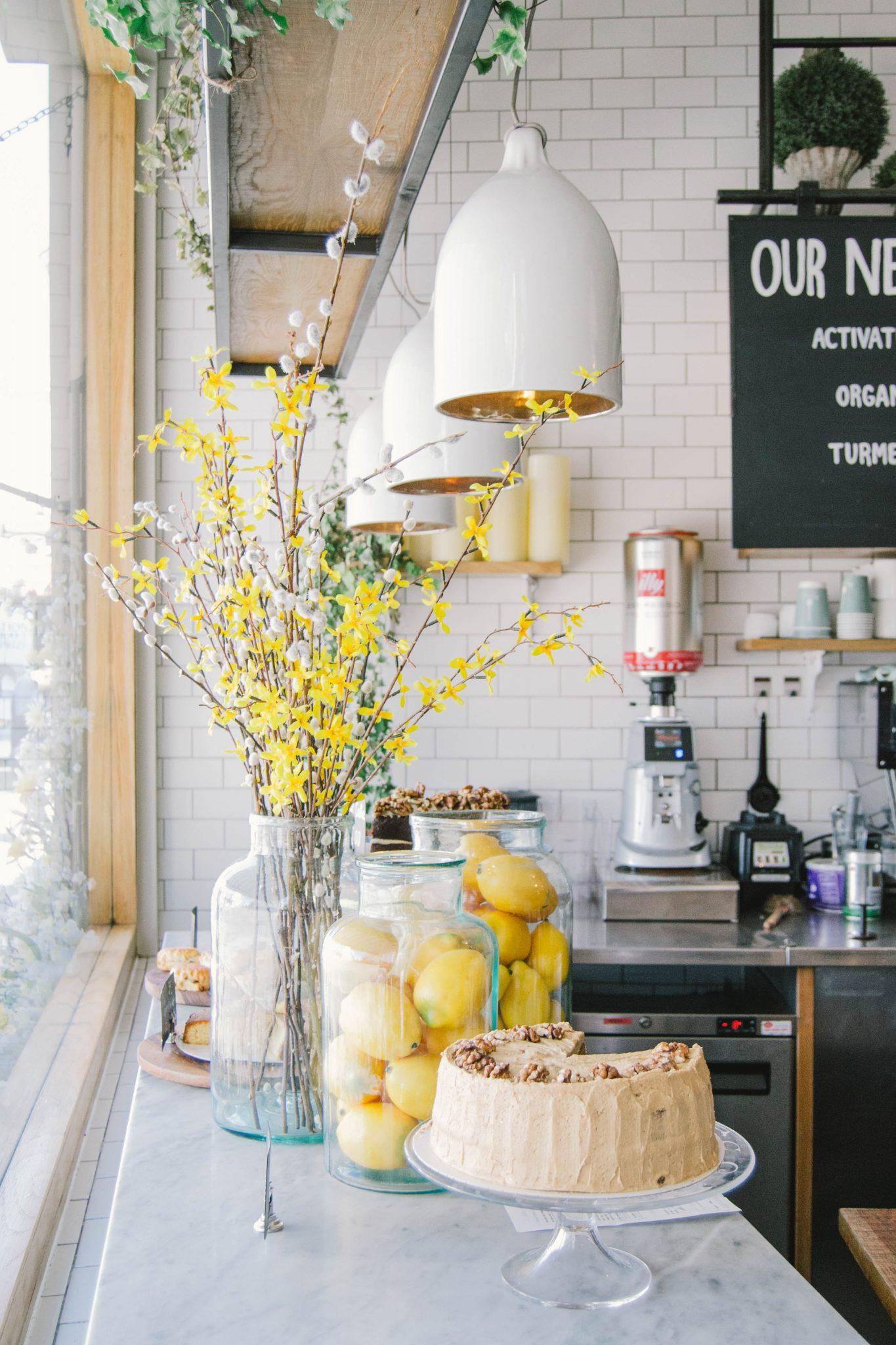 décor de comptoir de cuisine